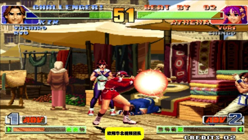 拳皇98COMBO 在麻宫的压制下金家藩还敢乱动真的是不要命了呀