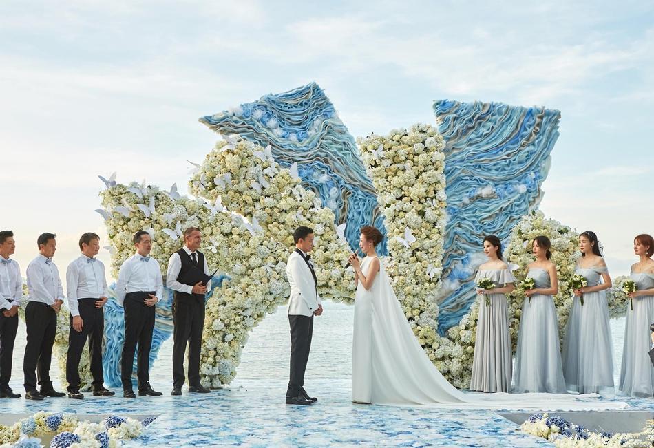 电脑壁纸刘亦菲周扬婚礼