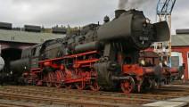 二战时期德国蒸汽机车的制造过程,不得不承认那时的德国工业已经冠绝全球了