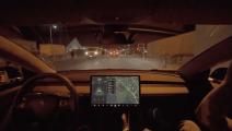 特斯拉最新Model3真车体验内部就一块仪表盘太简陋