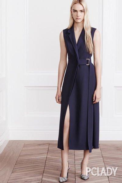 极简黑白连衣裙 大气沉稳高级款式是必备之选图片
