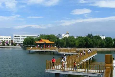大清河风景区 .