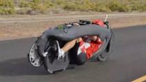 这辆自行车时速144公里,上高速都超速