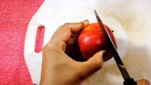 主厨切开一颗苹果,端上桌就要168,看完真是不得不服