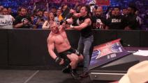 WWE莱斯纳这段戏,看出了电视剧的感觉,哈哈