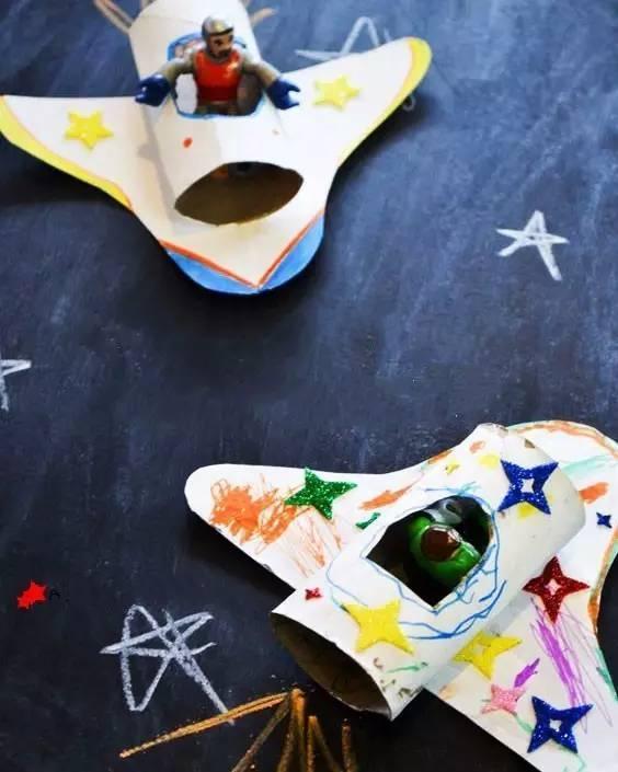 儿童创意手工制作, 小小飞行员
