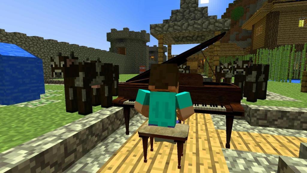 弹琴的歌谱-弹钢琴游戏乐谱 怎样弹钢琴