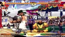 拳皇97 大门只用一颗能量就能打出一击必杀的效果