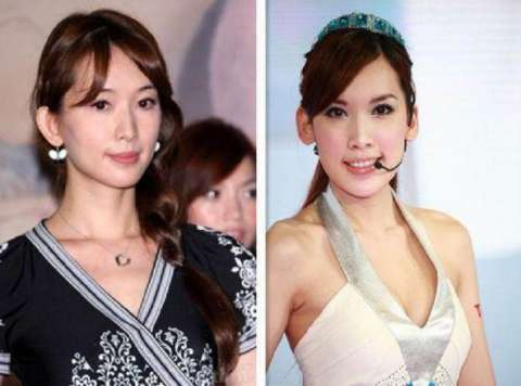 林志颖老婆素颜曝光吓坏网友, 上了妆和林志玲形似姐妹