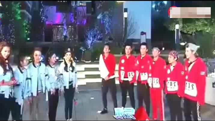 跑男选人环节: 迪丽热巴大胆表白鹿晗,真的是太甜蜜了,现在看起来好心酸啊
