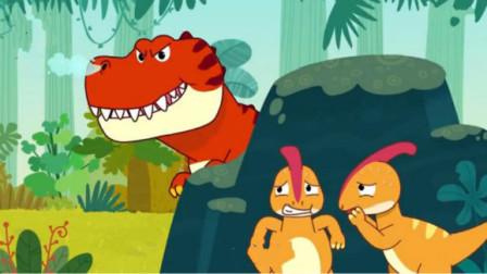 打开 小猪佩奇带你认识恐龙世界中的霸王龙三角龙剑龙副栉龙 广告 0