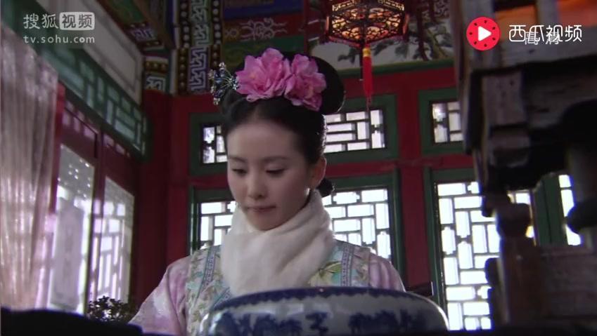 """《步步惊心》若曦在古代画""""西风烈马图"""",还是漫画版的"""