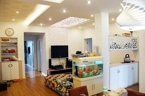 客厅隔断装修效果图 体验客厅隔断带来的家居魅力