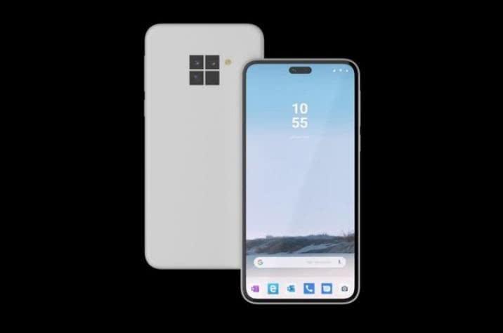 微软要借安卓再战手机江湖, 又一款新机被曝光