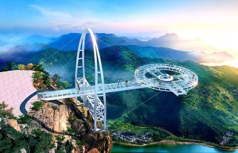 """其中除张家界新建的玻璃桥标榜世界最高最长外,北京平谷区石林峡的"""""""