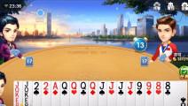 三名玩家手上共有8个硬炸,这就是新出的不洗牌玩法!