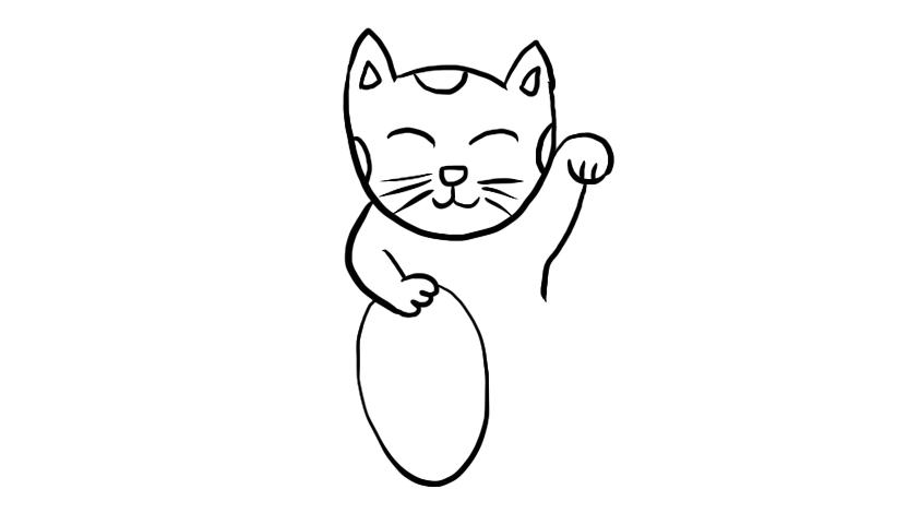 这只猫谁见谁喜欢,不信你不喜欢,育儿早教亲子绘画涂鸦简笔画,儿童学画画教程视频