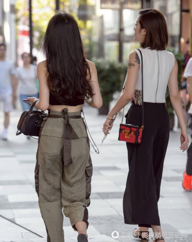 街拍摘下女生知道有多美多精致你喜欢墨镜真实偷拍图片