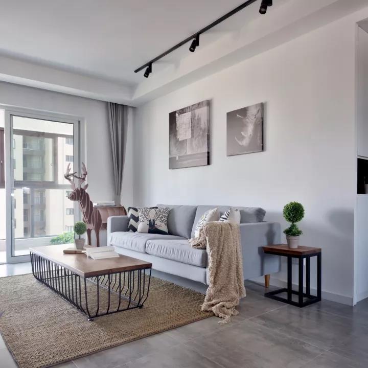 唐山新野上郡两室两厅118平米北欧风格装修案例效果