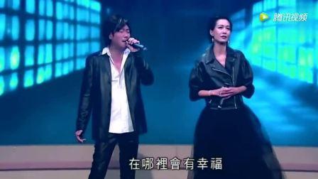 他现场模仿王杰演唱《谁明浪子心》曾经很火的一首歌!