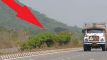 国外男子路边行走,拍下这录像,这是什么?