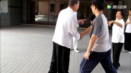 """太极拳的精典招式""""斜飞式""""散手无限循环对练法"""