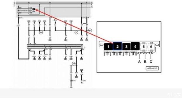 三个系统的电源线取自火线中的x线,x火线有j59继电器控制.