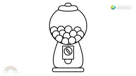刘坚强儿童简笔画 4-5 糖果