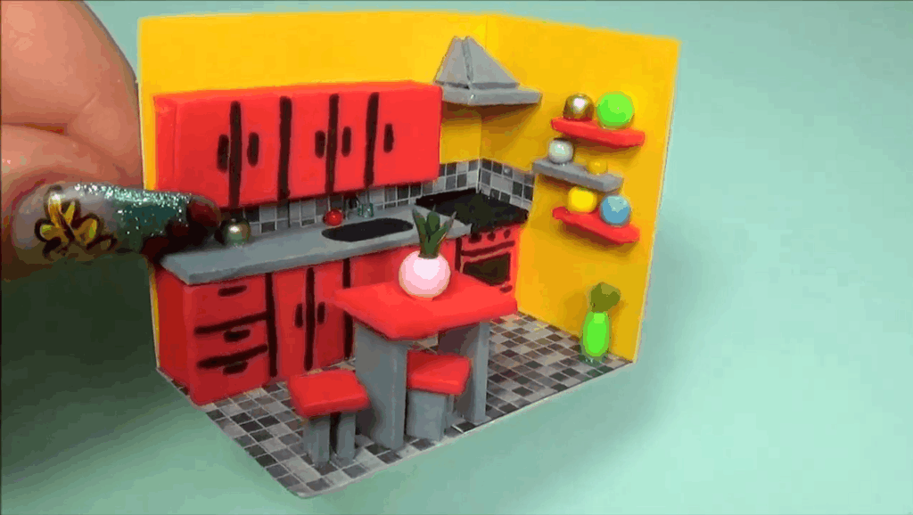 微世界DIY: 迷你厨房