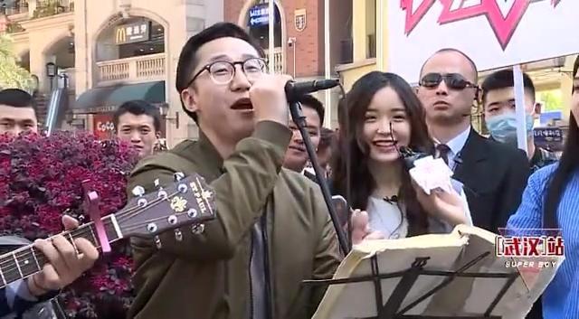 快乐男声海选: 街头艺人音乐玩出新境界