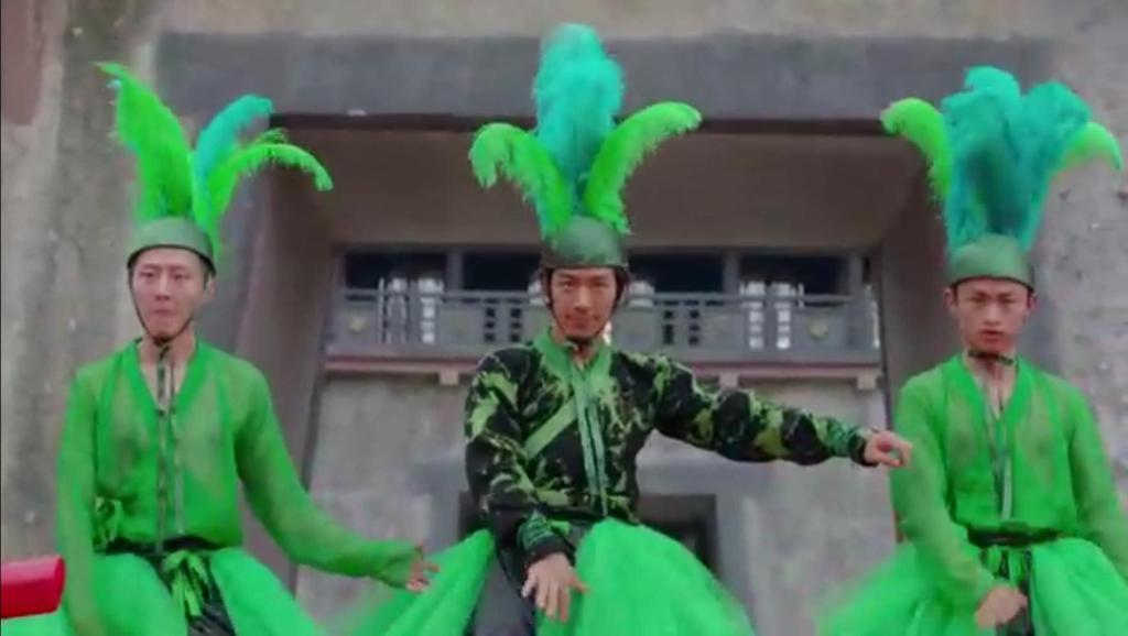 太子妃 赵王的千手孔雀把后宫都跳吐了