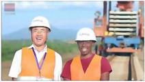 中国为肯尼亚建造的铁路,车站气势磅礴,就是中国车站的原版!