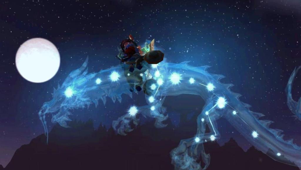 魔兽世界: 最美飞行坐骑星光龙,它是多少玩家的梦想?