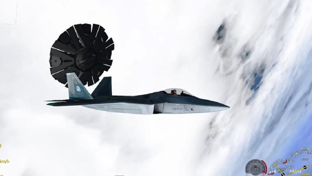 GTA5星尘: 开战斗机在高空偶遇不明飞行物!瞬间隐形声音惊悚!