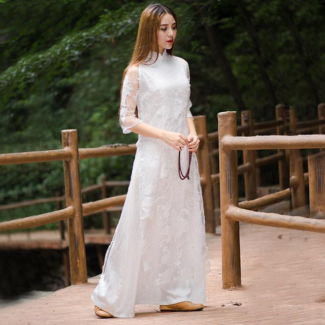 """姑娘不要穿韩版了, """"改良汉服""""才是17年的流行趋势, 优雅大方 9"""