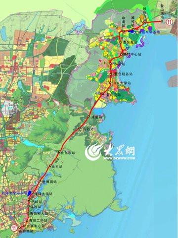青岛地铁7号线即墨段经过哪些站点