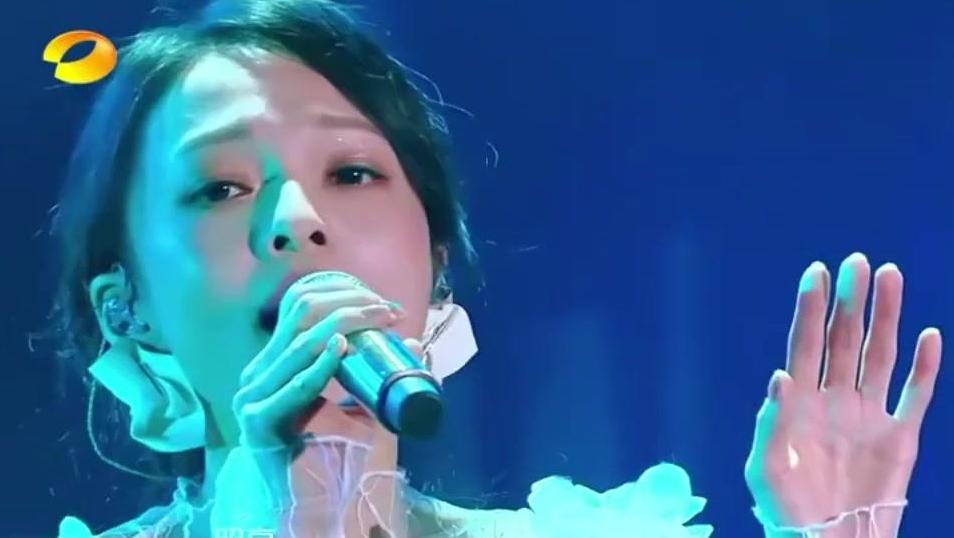 歌手2018 那一对隐形的翅膀又回来了,张韶涵的《梦里花》