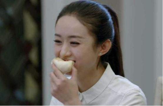 赵丽颖吃包子表情包分享展示图片