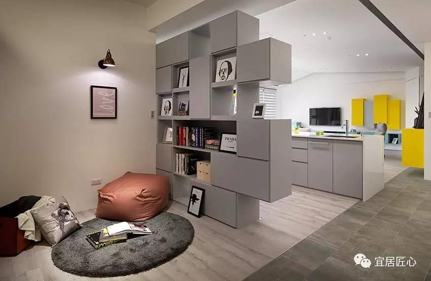「宜居家装」简约设计 彩色北欧风住宅装修