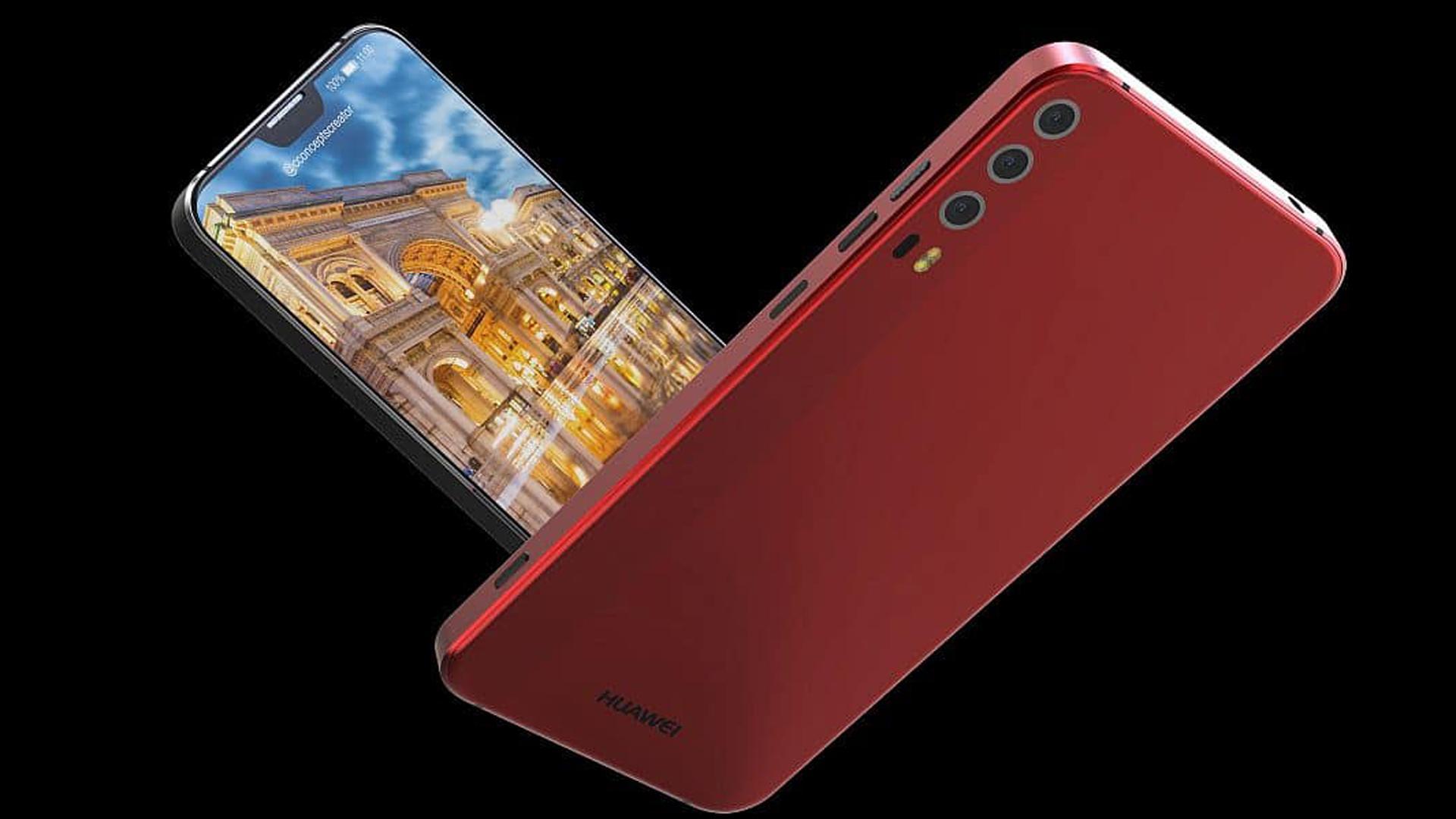 刘海比苹果iPhone X更小,华为P20公布发布时间!