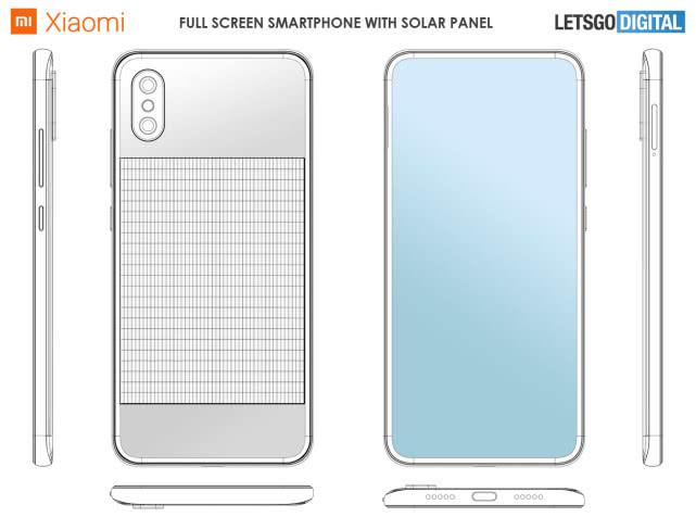 小米太阳能充电技术曝光, 手机或实现无限续航, 晒太阳即可充电!