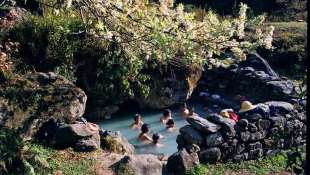 西藏有个神奇的温泉,池中不仅有很多蛇,男女还必须裸泡!