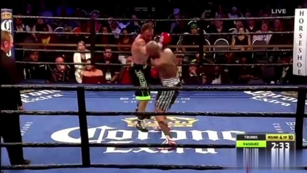 最新拳王争霸战!路易斯·科拉佐爆冷KO年轻新秀,强势复出拳坛