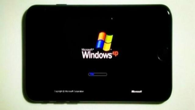 iPhone7上运行微软Windows XP 流畅吗