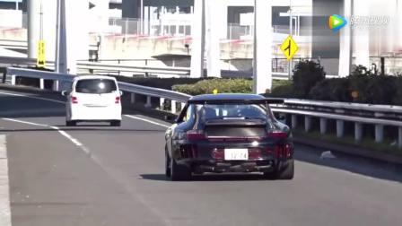岛国实拍兰博基尼法拉利等跑车,豪车都让他们给玩坏了!