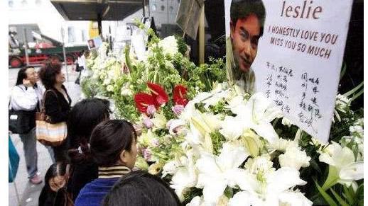 当年记者揭开内幕 张国荣跳楼逝世, 为何没有一个媒体拍到他遗容