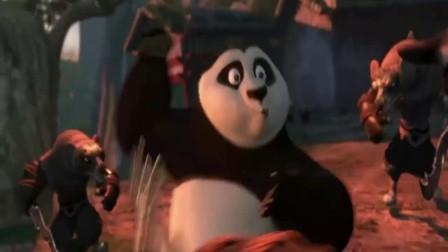 功夫熊猫2: 美国电影里武打场面果然不让人失望,哪怕只是动画片
