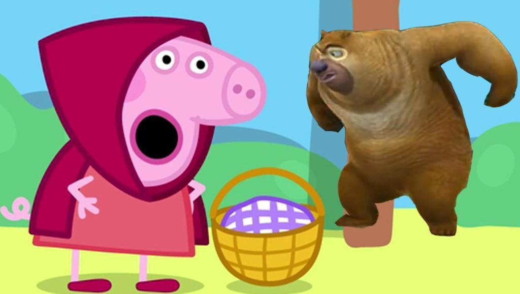 推土机简笔画 熊大熊二学画画 熊出没 光头强 儿童创意涂鸦 木制玩具
