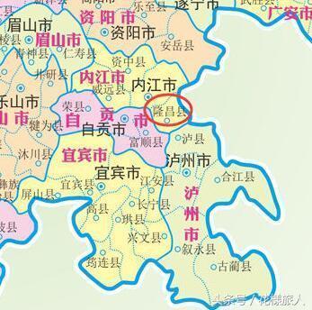 隆昌县石碾镇地图