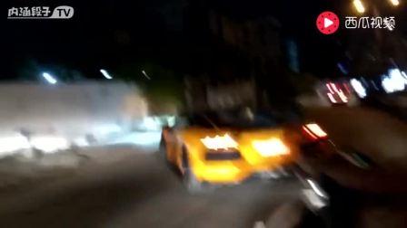 印度街头的超跑们 展示爆强加速 声浪嗨翻天